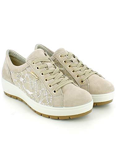 Foam Camoscio Beige Enval Sneaker Con Memory In E Pizzo wUpgnq0pA