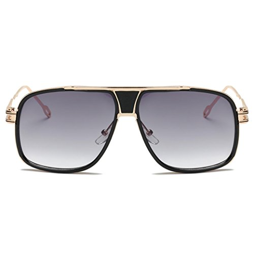 Sunglasses, Forthery Men Classic Retro Metal Frame Polarized Unisex Sun Glasses - Baseball Sunglasses Flip