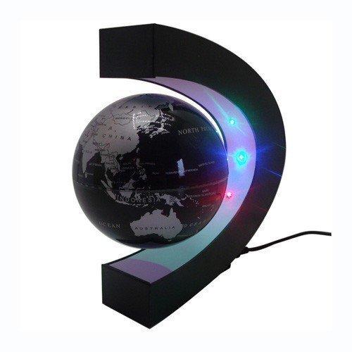 ZJchao C-Form Magnetschwebetechnik Schwimmende Kugel Floating Globe World Karte Geschenk