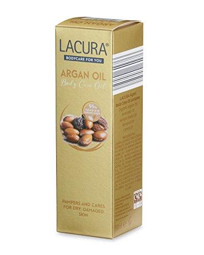 Aldi Lacura aceite de argán para cuerpo 150 ml para piel seca, Dañado: Amazon.es: Belleza