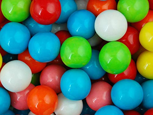 Bubble King Special Gumballs 1'' (25 mm) 15 pound 850 count - Gumballs in Bulk - Gumballs Refill - Gumballs for Gumball Machines