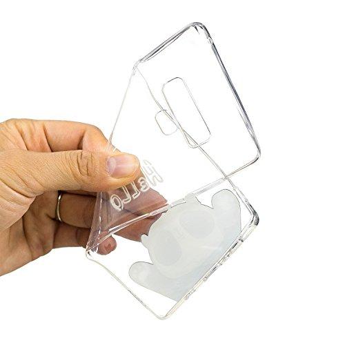 Silicone Original Flexible Mince pour Motif Transparent et Note en Cover Samsung Protection Gel Note Case Souple BONROY TPU Galaxy Housse Extrêmement Totem Panda Coque 9 Samsung Galaxy 9 Etui Black nTOaABt