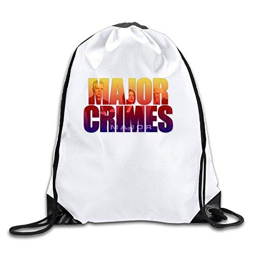 Major Crimes Poster 100% Polyester Fiber Drawstring Scak One Size