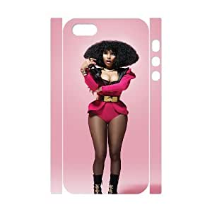 I-Cu-Le Cell phone Protection Cover 3D Case Nicki Minaj For Iphone 5,5S