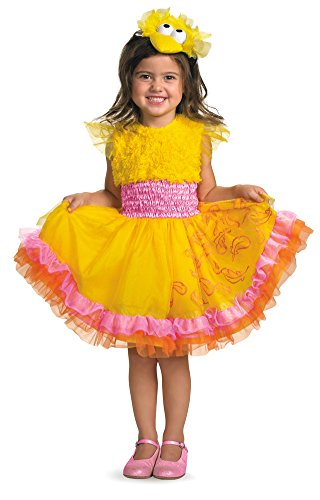 [Frilly Big Bird Costume - Toddler Medium] (Toddler Boy Big Bird Costume)