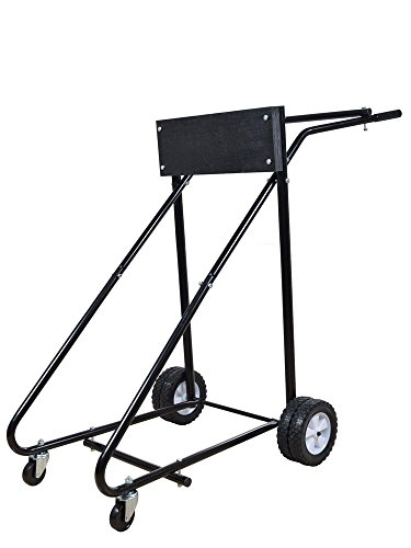 Tms 315 Lb Outboard Boat Motor Stand Carrier Cart Dolly