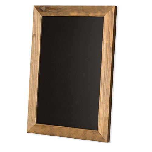 - Magnetic Kitchen Chalkboard Sign - 10x14 Inch Rustic Framed Hanging Chalk Board