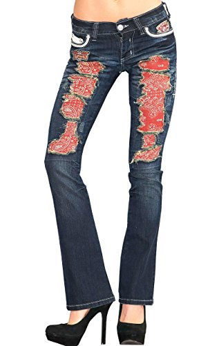 Affliction Jade Drifter Rome Boot Cut Denim (29) by Affliction