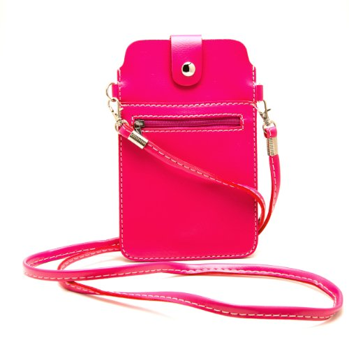Zippered Shoulder Pouch Strap iPhone