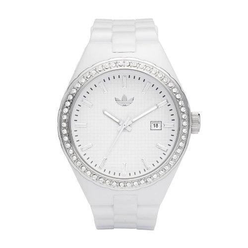 adidas Adh2123 - Reloj para hombres, correa de poliuretano color blanco: Amazon.es: Relojes