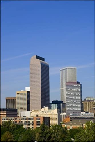 Denver, Colorado Skyline Journal: 150 page lined notebook/diary