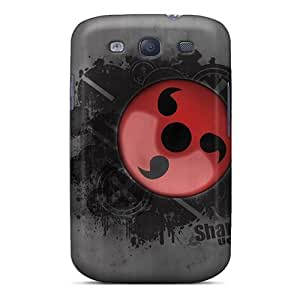 Defender Case With Nice Appearance (naruto Shippuden Sharingan) For Galaxy S3