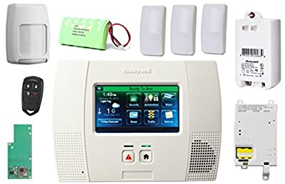 Honeywell Lynx Touch L5200 Wireless Security Alarm Slim Line Kit with 3GL GSM & Zwave Module