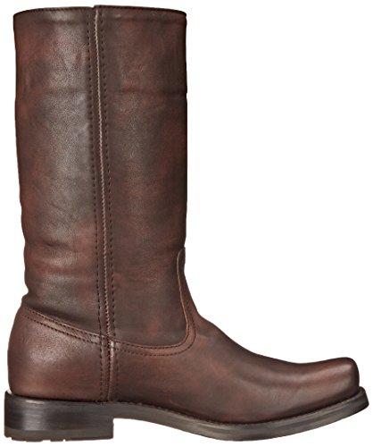 Frye Botas de Heath outside-zip para las mujeres Maple-77268