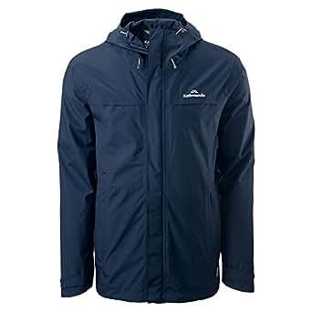 Kathmandu Bealey Men's Gore-TEX Windproof Waterproof Outdoor Rain Jacket Dark Navy L