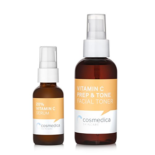 Vitamin C Set- 20% Vitamin C E Serum & Vitamin C Facial Tone