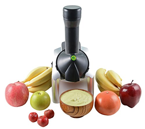 Veneto Kitchen's Healthy Fruit Churning Frozen Dessert Machine, Yogurt Maker, uses only 100% natural fruits that you chose. Final product Fresh and Ready to enjoy.