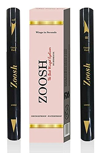 Winged Eyeliner Stamp – Create Make Up Magic - Waterproof, Smudgeproof, Sweatproof - Best Long Lasting Liquid Eye Liner Pen, Vamp Style Effects Wing, Black Ink Color – 2 Pack Stamps Pens Set.