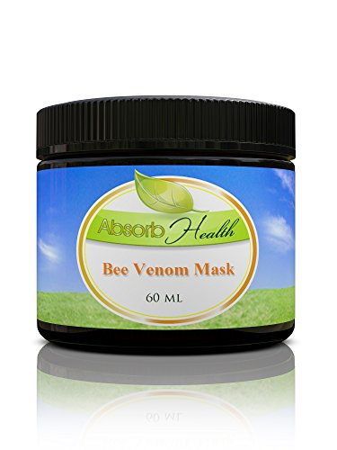 Bee Venom Mask | Cream for Day or Night | 1oz or 2oz | Natural Manuka Honey, Hyaluronic Acid, and Shea (2oz)