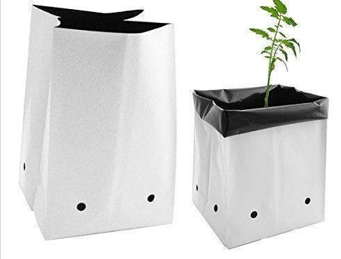Viagrow 10 Gal. plastic Nursery Grow Bags (200 pack)