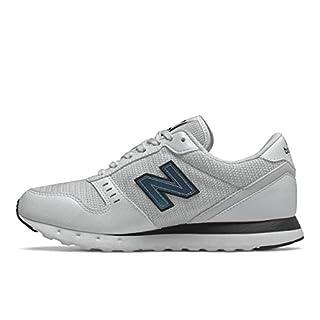 New Balance Women's 311 V2 Sneaker, White/Black, 12