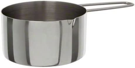 American Metalcraft MCW10 1-Cup Stainless Steel Measuring Cup with Wire Loop Handle by American Metalcraft