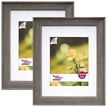 Better Homes And Gardens 11x14 8x10 Rustic Wood Picture Frame 2pk 11 X 14 8 X
