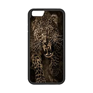 Case Cover For Apple Iphone 4/4S Plum flower leopard Phone Back Case Personalized Art Print Design Hard Shell Protection FG044587