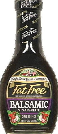 (Maple Grove Dressing Balsamic Vinaigrette Fat Free 8.0 OZ(Pack of 2))