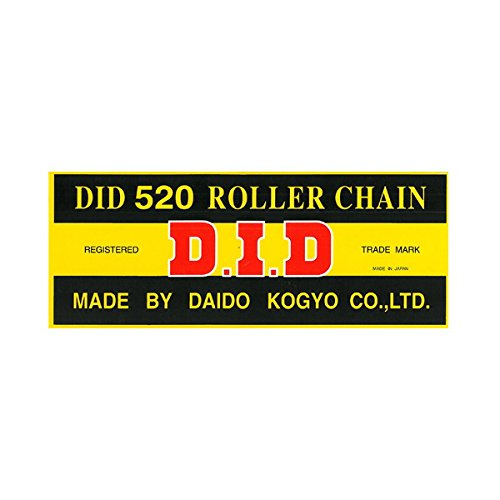 (DID 520STD-86 Standard Series Chain with Connecting)