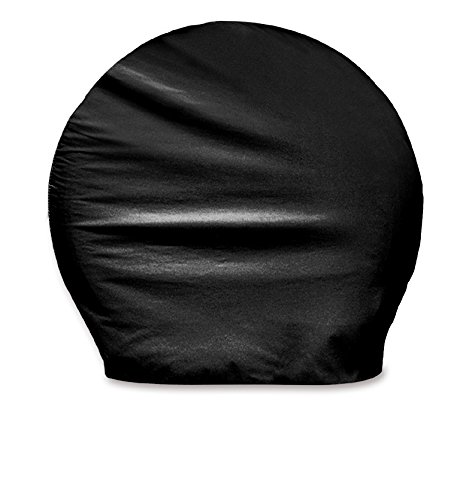- ADCO 3977 Black BUS Vinyl Ultra Tyre Gard Wheel Cover, (Set of 2) (Fits Tire Diameter 40