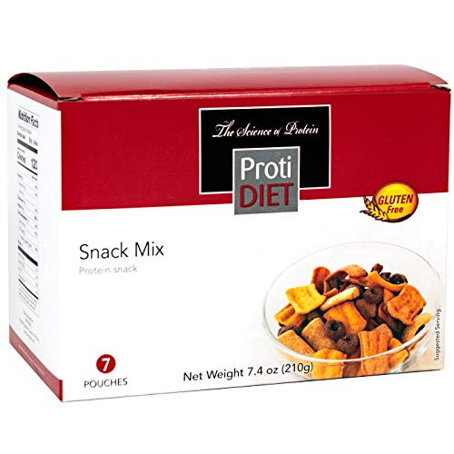 ProtiDiet - Protein Snack Mix - 7/Box - High Protein - Low Calorie - Gluten Free