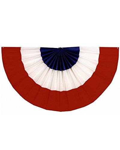(Amscan Red, White and Blue Bunting (18