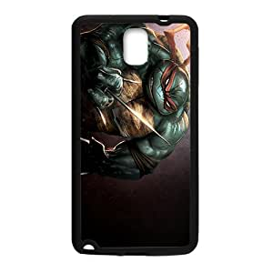 Personalized Raphael Teenage Mutant Ninja Turtles Custom Black Phone Case For Samsung Galaxy Note3