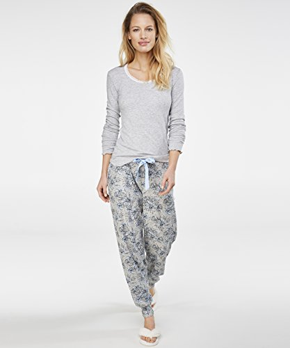 Hunkemöller Femme Haut de pyjama à manches longues rib 119390