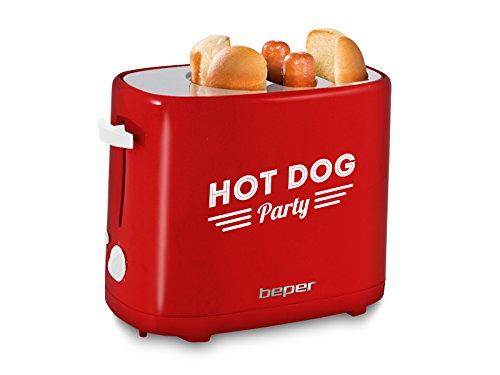 Beper 90.488, Macchina per Hot-dog, Rosso