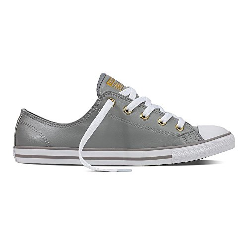 Converse Chuck Taylor All Star Damen Sneaker Dainty Low Ox Dolphin/ Gold