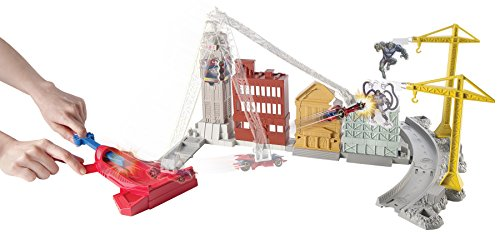 Hot Wheels Marvel Spidey's Spinning Web Swing Track Set ()