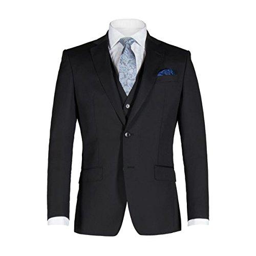 [アレクサンダーオブイングランド] メンズ ジャケット&ブルゾン Weston Black Twill Jacket [並行輸入品] B07F34J19Q 36 Regular