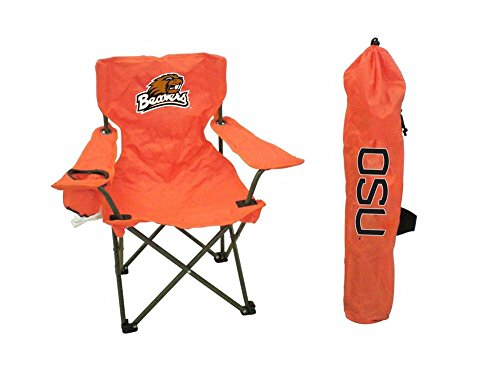 Rivalry Sports Team Logo Design Outdoor Travel Tailgating Oregon State Junior Tailgate Chair