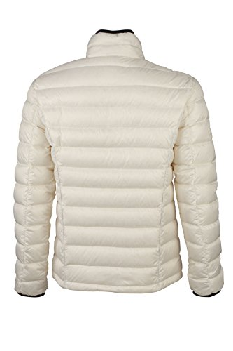 Uomo Quilted Men's Daunenjacke Bianco Giacca James black Down white off Nicholson amp; Jacket ztxxqIE8