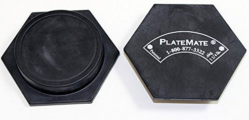 Platemates Hex Pair, 1.25 Lbs. each by PlateMate