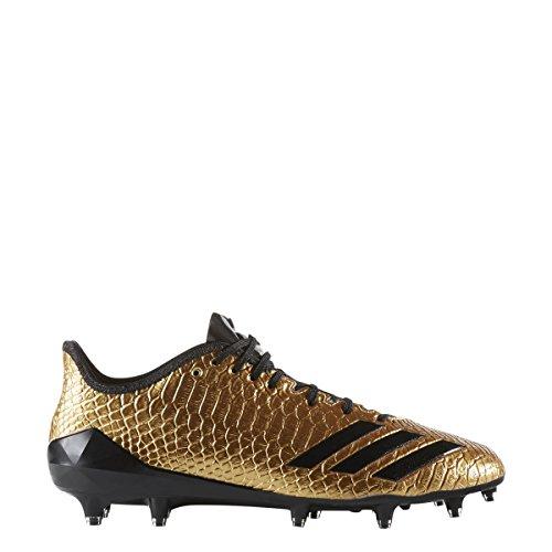 adidas Men's Adizero 5-Star 6.0 Gold Football Cleat Gold/Black Size 9 M US