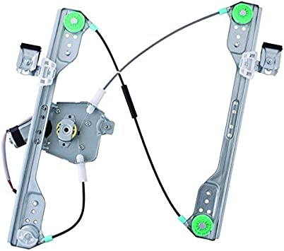 Passengers Front Power Window Lift Regulator with Motor Assembly Replacement for 300 Charger Magnum 5065470AF