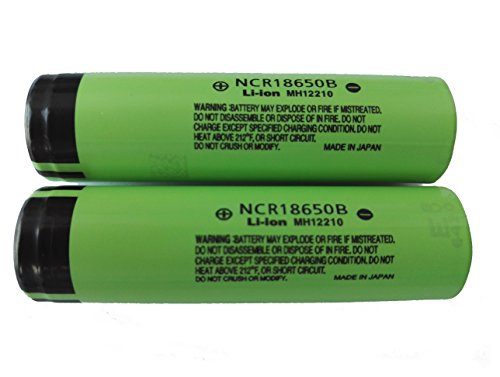 NCR18650B PhotonDynamic 3400mAh Rechargeable Battery product image