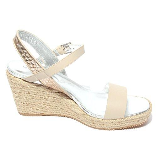 H266 women Beige zeppa shoes sandalo corda scarpa donna HOGAN B0702 wa8tOx4Uqn
