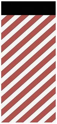 5-Pack 96x48 CGSignLab Half Price Off Entire Store Modern Diagonal Perforated Window Decal