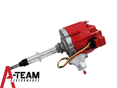 A-Team Performance AMC/Jeep Straight 6 232 3.8L & 258 4.2L 65K COIL Red Cap HEI Complete Distributor One (4.2l 6 Cylinder Engine)