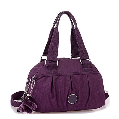 Frauen Jahrgang Leinwand Schulter Aktentasche Messenger Handtasche Side Die Universelle Einsatz Tasche ,J-30cm*14cm*20cm