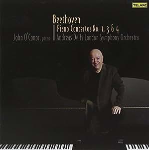 Beethoven: Piano Concertos Nos. 1, 3 & 4 [2 CD]